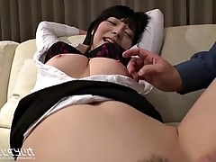 Tied up Busty Asian bdsm session - Ai Uehara -..