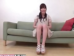 Cute Looking Asian Amateur Teen gets plowed
