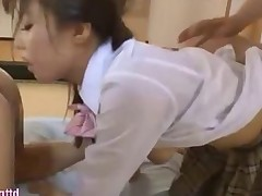 Naive schoolgirl gets into some sexy trouble she..