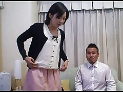 Tomomi Shimazaki Fucked in front of Husband..