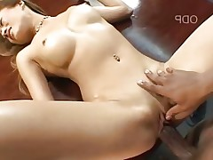 Sexy Japanese Chick Aya Loves Black Cock DM720