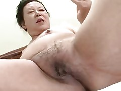 Japanese BBW Granny shino moriyama 66-years-old..
