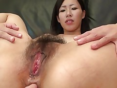 Busty MILF Shiho takes it in the ass