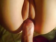 Tight shaved asian pussy fucked by white cock