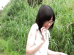 young tiny Japanese girl Yuri and BF play-by..