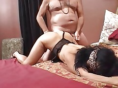 asian mature blindfolded and ass fucked