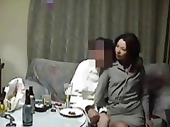 Japanese wife real fucking action