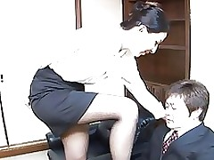 japanese office ladie has intercourse a dude